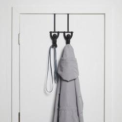 UMBRA BUDDY DOUBLE OVER THE DOOR HOOKS BLACK