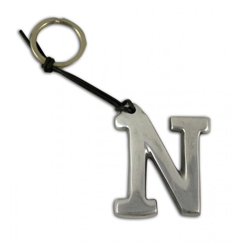 artista spacciatore portachiavi alfabeto lettera n
