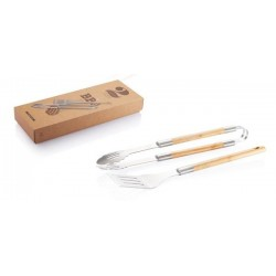 MAI UGUALI BBQ SET DELUXE BAMBOO