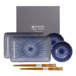 SHIKI CIOTOLA+CHOPSTICK TAYO SET FOR TWO TOKIO DESIGN STUDIO