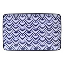 PIATTO RETTANGOLARE NIPPON BLUE WAVE TOKYO DESIGN STUDIO