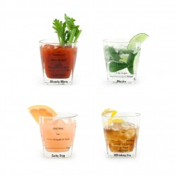 TRADING GROUP BARTENDING GLASSES