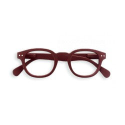 "OCCHIALI READING IZIPIZI ""MODELLO C"" BROWN BROUX +1,5"