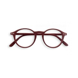 "OCCHIALI READING IZIPIZI ""MODELLO D"" BROWN BROUX +2,5"