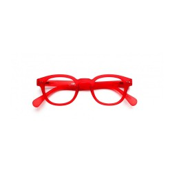 "OCCHIALI READING IZIPIZI ""MODELLO C"" RED CRYSTAL SOFT +2,5"