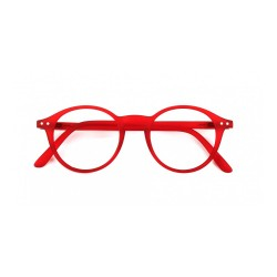"OCCHIALI READING IZIPIZI ""MODELLO D"" RED CRYSTAL SOFT +1,5"
