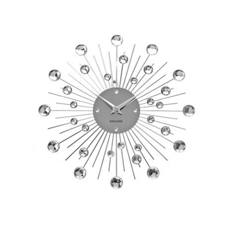 PRESENT TIME OROLOGIO DA PARETE CRYSTAL MEDIUM