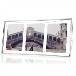 UMBRA PRISMA MULTI PHOTO DISPLAY CROMO