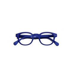 "OCCHIALI READING IZIPIZI ""MODELLO C"" NAVY BLUE SOFT +1"
