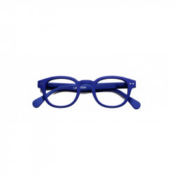 "IZIPIZI OCCHIALI READING ""MODELLO C"" NAVY BLUE SOFT +3"