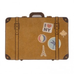 BALVI ZERBINO LUGGAGE MARRONE