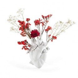 SELETTI VASO IN PORTCELLANA LOVE IN BLOOM