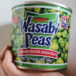 """ WASABI PEAS"" DAL MOOD MOLTO GIAPPONESE"