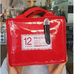 PUSHER LUNCH BAG ROSSO